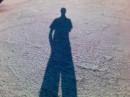 Foto con l'ombra