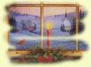 Vecchie cartoline di Natale