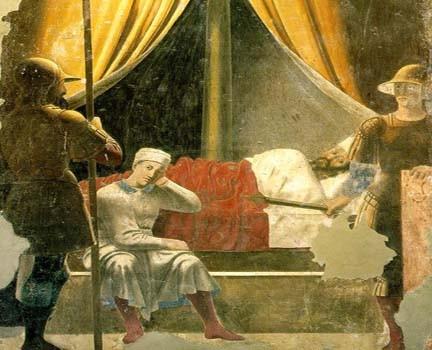 sogno di costantino paolo della francesca