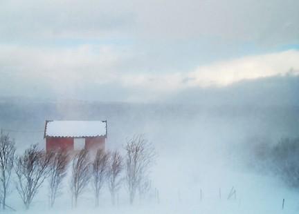 sognare tempesta di neve
