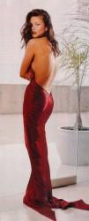 vestito rosso sogni