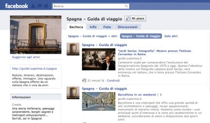 Facebok Guida Spagna