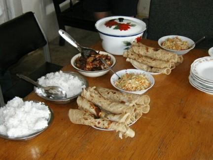 alcune specialità kenyote