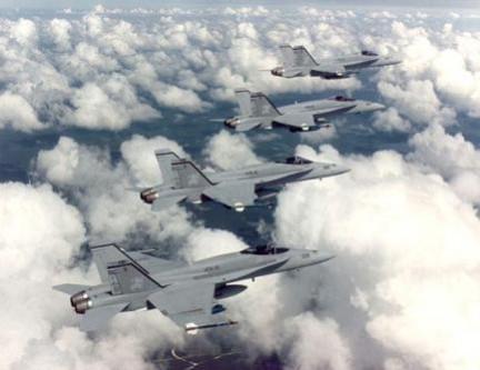 Aerei caccia o aerei da attacco?