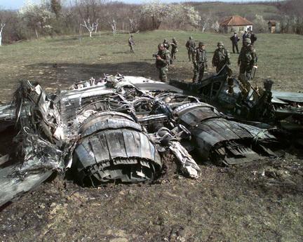 Fulcrum abbattuto dalla NATO