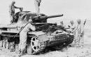 PzKpfw IV ispezionato dagli americani, Tunisia 1943