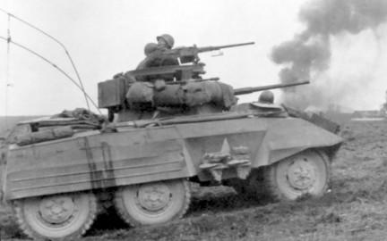 M8 Greyhound in azione