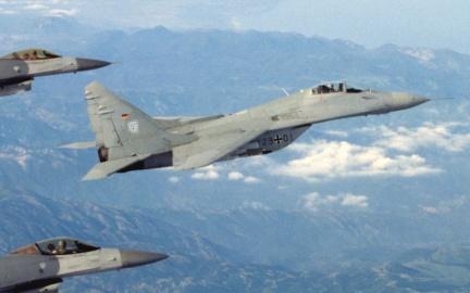 MiG-29A della Luftwaffe, 1995