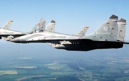 MiG-29A della Luftwaffe, 1996