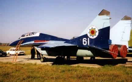MiG-29UB moldavo, 1997