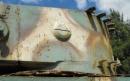 Lato sinistro della torretta