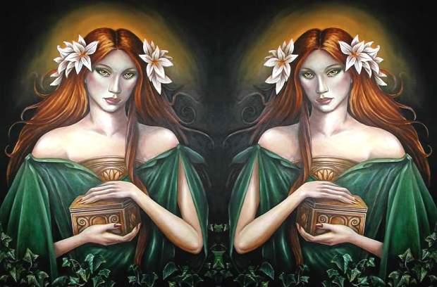 Eva e pandora for Mito vaso di pandora