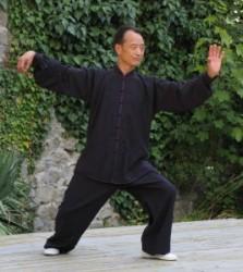 il maestro Liu Bo Xue