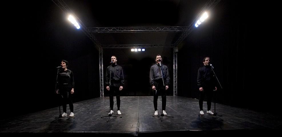 La Cosa 1: le immagini dello spettacolo di Teatro Sotterraneo