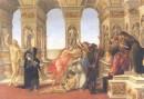 La poesia al di là del tempo - descrizione Botticelli