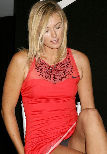 Maria Sharapova fuori dal campo di gioco