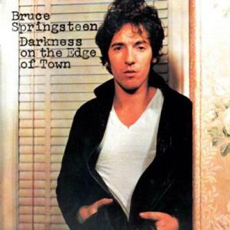 copertina dell'album di Springsteen Darkness on the edge of town, 1978