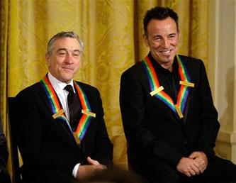 Springsteen e De Niro al Kennedy Center Honors