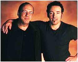 Bruce Springsteen and Jon Landau