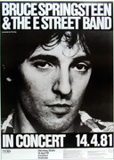 locandina del The River Tour 1980, Springsteen