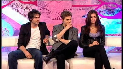 Ian, Paul e Nina