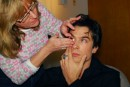 Ian Somerhalder - Make up vampiro