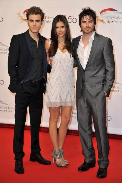 Ian Somerhalder, Nina Dobrev, Paul Wesley: Monte Carlo Festival