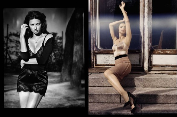 Adriana Lima su Vogue Spagna