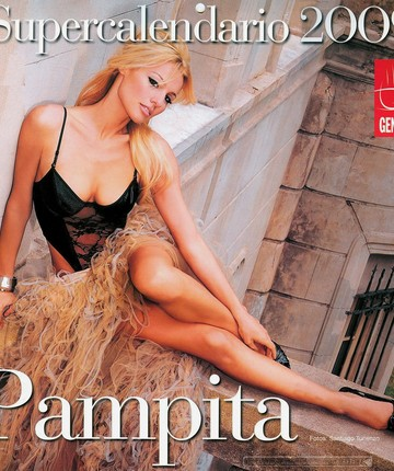 Carolina Pampita Ardohain Sexy Calendario 2009