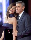 Clooney Canalis coppia finta?