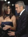 Clooney Canalis coppia finta?