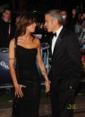 Elisabetta Canalis e George Clooney a Londra