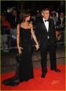 Elisabetta Canalis e George Clooney a Londra