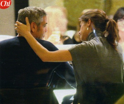 Elisabetta Canalis e George Clooney: Ecco Finalmente i Baci!