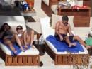 Elisabetta Canalis e George Clooney iniziano il 2010 in Spiaggia