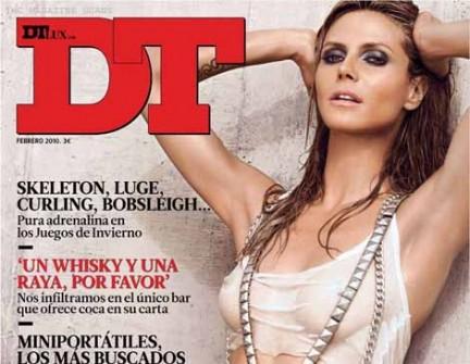 Heidi Klum bellissima su DT Magazine