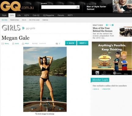 Il Ritorno di Megan Gale