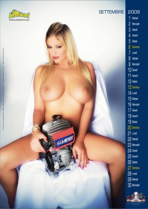 Jenny McClain Sexy Calendario 2009