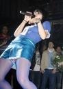 Lilly Allen trasgressiva in sexy lingerie blu!