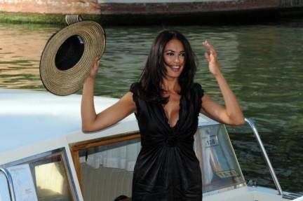 Maria Grazia Cucinotta Bellissima Madrina del Festival Del Cinema di Venezia