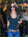 Megan Fox Shopping e Iphone