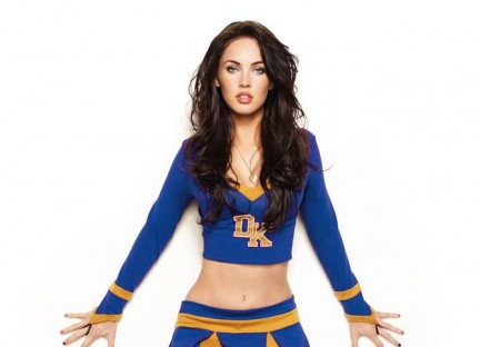 Megan Fox vestita da Cheerleader per Jennifer's Body