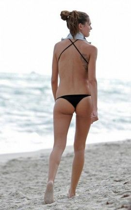 Melissa Satti Splendida in Bikini a Miami Beach