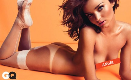 Miranda Kerr Angelo Sexy su GQ