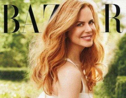 Nicole Kidman bellissima per Harpers Bazaar