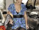 Paris Hilton e quella gonna troppo corta