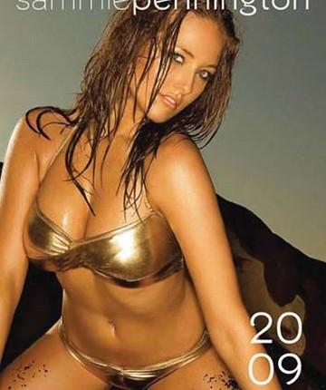 Sammie Pennington Sexy DJ Calendario 2009