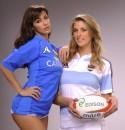 Sfida fra Sexy Madrine per Italia - Argentina di Rugby