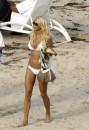 Victoria Silvstedt Bellissima in Bikini Bianco