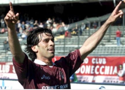 Centrocampista Torino Fc 1996-2003